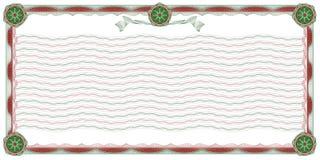 granica guilloche ornamentacyjnego tło Zdjęcie Stock