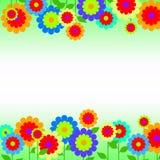 granica kwitnie wiosna Zdjęcie Stock