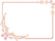 granica osacza dekoracyjny odosobnionego Obraz Royalty Free