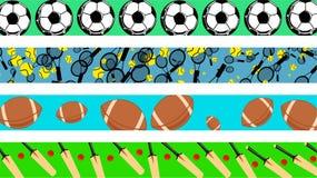 granica sportu royalty ilustracja
