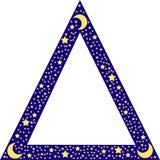 granica star trójkąt Obraz Royalty Free