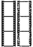 granice 35 grunge mm filmu zdjęć wektora Obrazy Stock
