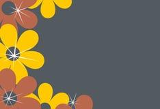 granice tła kwiat ilustracja wektor