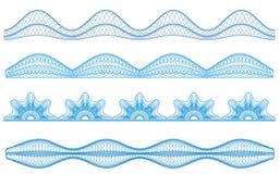 granicy guilloche ilustracji