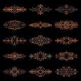 Granicy Inkasowe w Etnicznym stylu Obraz Royalty Free
