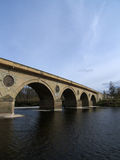 granicy przerzucają most coldstream Scotland Obraz Stock