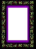 graniczny szklany ramowy holly Fotografia Stock