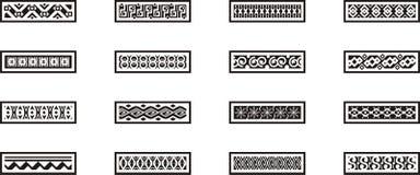 graniczy meksykańskiego ornamental Obraz Stock