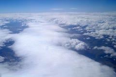 Granie mgły w mgłach mgle i mgle, zdjęcia royalty free