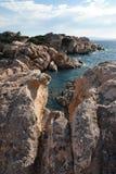Graniet en in Sardinige Stock Foto's