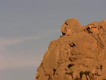 graniet en zijn vormen a royalty-vrije stock afbeelding