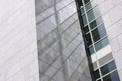 Graniet, glas en staal Royalty-vrije Stock Afbeelding