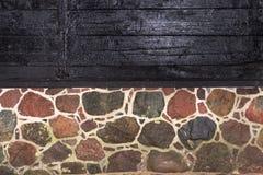 Graniet - hout Royalty-vrije Stock Afbeeldingen