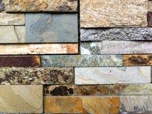 Graniet of Schaliemuurtextuur Stock Foto