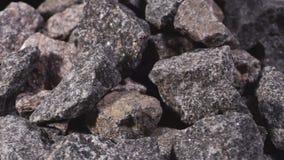Granietsteen stock footage