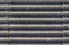 Granietstenen met groeven als goten voor zekere -zeker-footedn drainage royalty-vrije stock foto