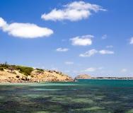 Granitö, södra Australien Arkivbild