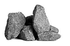 granit蒸汽浴 库存图片