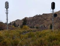 Granit-Überfahrt Stockbilder