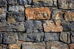 Granit ścienna tekstura, bezszwowa tekstura, kamieniarstwo dzień, barwiący granitowy naturalny kamień, kawałki kamień, drzazgi, obrazy royalty free