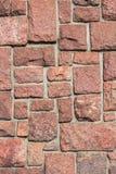 Granit blocks in concrete Stock Photo