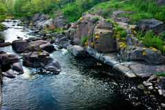 Granit canyon Royalty Free Stock Image
