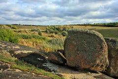 Granit Dike Stockbild