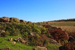Granit Dike Lizenzfreies Stockbild