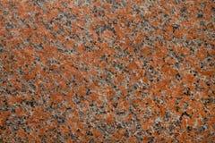 Granit en pierre rouge de texture d'érable Photo libre de droits