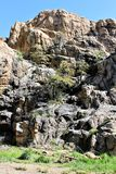 Granit-enge Täler stockfotografie