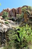 Granit-enge Täler lizenzfreie stockbilder