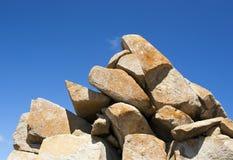 Granit-Felsen Lizenzfreies Stockbild
