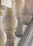 Granit-Handlauf Lizenzfreie Stockfotos