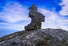 Granit i Elba Island royaltyfria foton