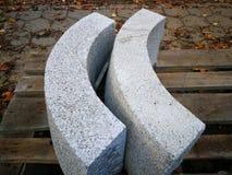 Granit incurvé images libres de droits