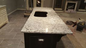 Granit instaluje Obrazy Royalty Free
