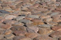 Granit-Kopfstein-Quadrat Stockfotografie