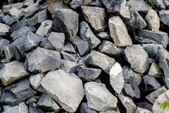 Granit krossad sten royaltyfri foto
