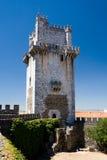 Granit och marmor håller (Torre de Menagem), i Beja, Portugal Royaltyfri Bild