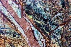 Granit- oder Marmorsteinkristallbeschaffenheit Lizenzfreies Stockbild