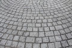 Granite pavement stones royalty free stock photo