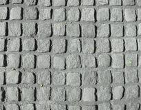 Granit-Pflasterung-Steine Stockfoto
