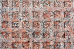 Granit quadriert Pflasterung Beschaffenheit, Hintergrund Lizenzfreie Stockfotografie