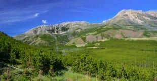 Granit Ridgeline Photographie stock