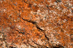 Granit rouge Images stock