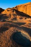 Granit-Schlaglöcher Lizenzfreie Stockbilder