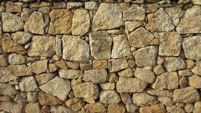 Granit skały ogrodzenie Zdjęcia Stock