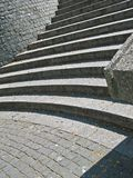 Granit stairs Royalty Free Stock Photos