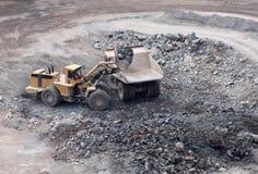 Granit-Steinbruch Lizenzfreie Stockfotos