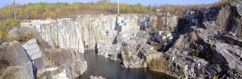 Granit-Steinbruch Stockbilder